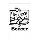 Soccer Mini Poster Print