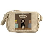 Dracula on Search Committee Messenger Bag