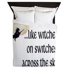 witchesonswitches Queen Duvet