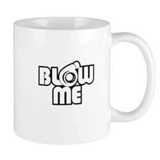 blow me turbo Mugs