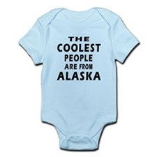 The Coolest People Are From Alaska Infant Bodysuit