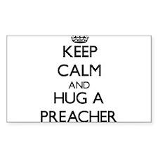 Keep Calm and Hug a Preacher Decal