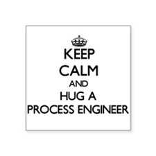 Keep Calm and Hug a Process Engineer Sticker