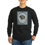 Catahoula Leopard Dog Long Sleeve Dark T-Shirt