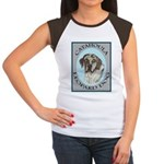 Catahoula Leopard Dog Women's Cap Sleeve T-Shirt