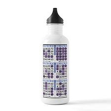 Jackpot Bingo Cards sh Water Bottle