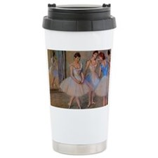degas dancers with mirror copy Ceramic Travel Mug