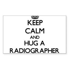 Keep Calm and Hug a Radiographer Decal