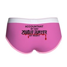 Zombie Hunter - Accountant Women's Boy Brief