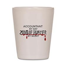 Zombie Hunter - Accountant Shot Glass