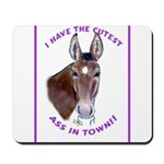 A cute Jack Ass! Mousepad