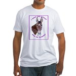 A cute Jack Ass! Fitted T-Shirt