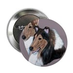 Smooth and Rough Collie Button