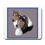 Smooth and Rough Collie Mousepad