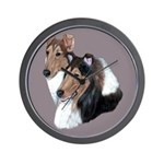 Smooth and Rough Collie Wall Clock