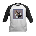 Smooth and Rough Collie Kids Baseball Jersey