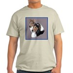 Smooth and Rough Collie Ash Grey T-Shirt