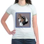 Smooth and Rough Collie Jr. Ringer T-Shirt