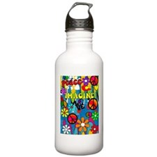 Peace iPhone cases 2 Water Bottle