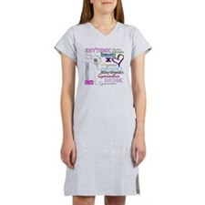 I Heart Rhythmic Gymnastics Women's Nightshirt