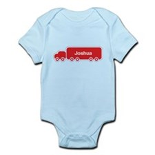 Big Red Truck Personalisable Body Suit