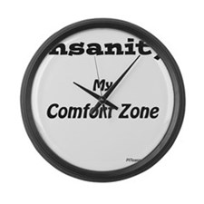 Comfort Zone Large Wall Clock