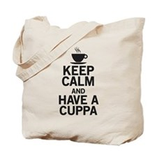 Keep Calm Have a Cuppa Tote Bag