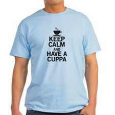 Keep Calm Have a Cuppa T-Shirt