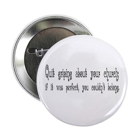 "Perfect Church 2.25"" Button (10 pack)"