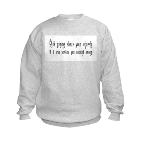 Perfect Church Kids Sweatshirt