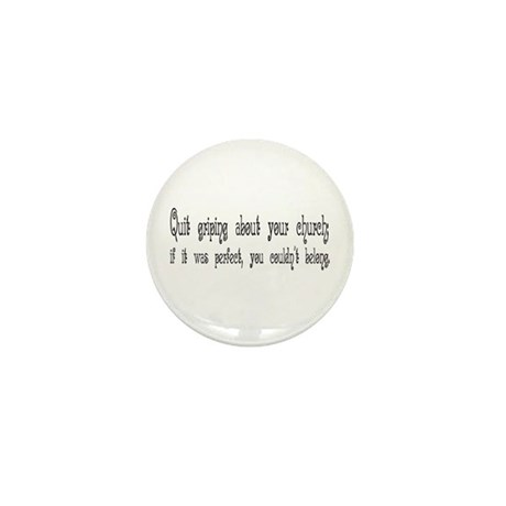 Perfect Church Mini Button (10 pack)