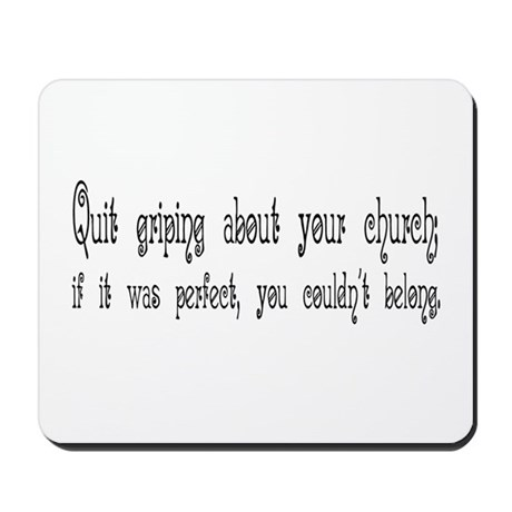 Perfect Church Mousepad