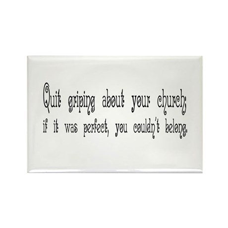 Perfect Church Rectangle Magnet (10 pack)