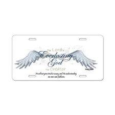 Isaiah 40-28 Aluminum License Plate