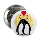 Loving Penguins (sunburst) Button