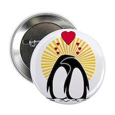Loving Penguins (sunburst) Button