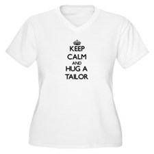 Keep Calm and Hug a Tailor Plus Size T-Shirt