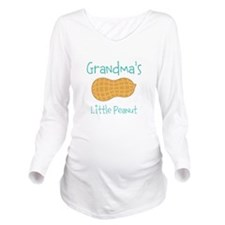 Personalized Little Peanut Long Sleeve Maternity T
