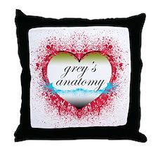 2-greysanatomy Throw Pillow