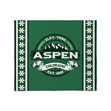 Aspen Forest Throw Blanket