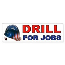 DRILL BUMPER STICKER Bumper Bumper Sticker