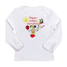make fun girl papaw Long Sleeve T-Shirt