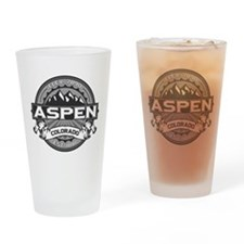 Aspen Grey Drinking Glass