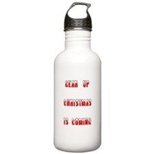 Gear Up Christmas Water Bottle