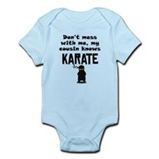 My Cousin Knows Karate Body Suit