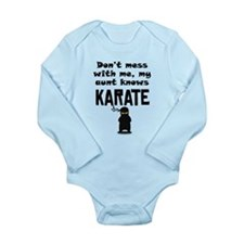My Aunt Knows Karate Body Suit