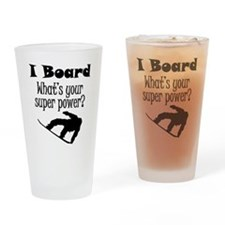I Board (Snowboard) What's Your Super Power? Drink
