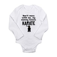 My Mommy Knows Karate Body Suit