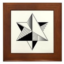 B&W-37 Framed Tile