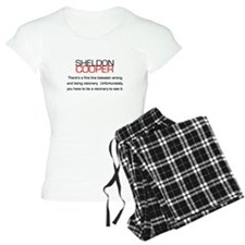 Sheldon Cooper's Visionary Quote Pajamas